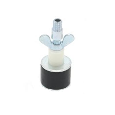 Rohrverschlussstopfen 8 bar mit Durchgang und Adapter