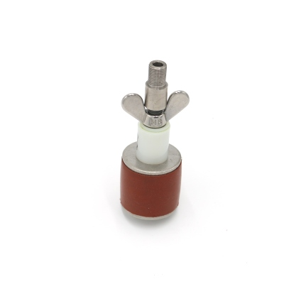 Rohrverschlussstopfen Silikon 8 bar mit Durchgang und Adapter