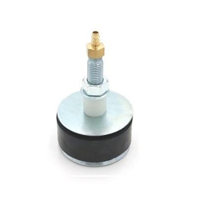 Hochdruckrohrendverschluss 12 bar (mit Durchgang und Kupplungsstecker)