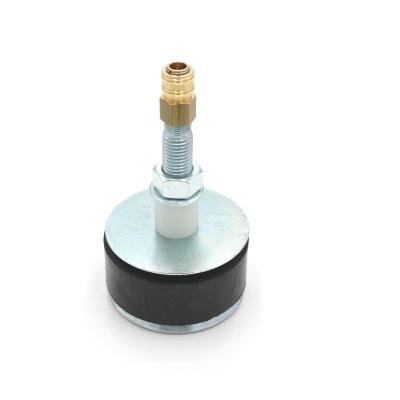 Hochdruckrohrendverschluss 12 bar (mit Durchgang und Schnellverschlusskupplung)
