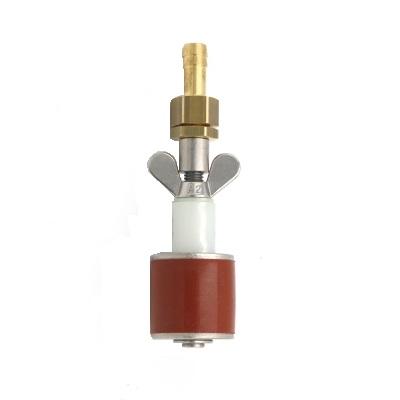Rohrverschlussstopfen Silikon 8 bar (mit Durchgang und Schlauchtülle)