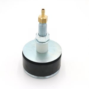 Hochdruckrohrendverschluss 12 bar (mit Durchgang und Schlauchtülle)