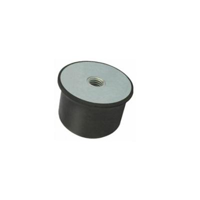 Gummi-Metall-Puffer Typ KE (konisch)