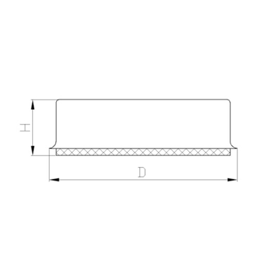 Maschinenfuss Typ SK Zeichnung